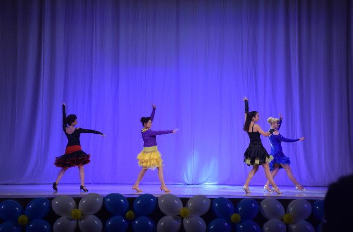 Латинские танцы (сольно)