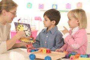 Обучение детей чтению и речи (4-5 лет)